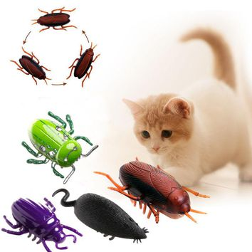 Electronic Trick-Playing Toy Electric Simulation Insect Crawl Vibration Toys