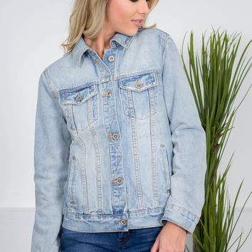 Light Fit Denim Jacket