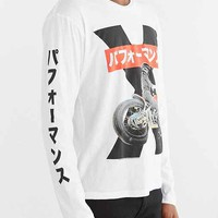 Kawasaki X Long-Sleeve Tee- White