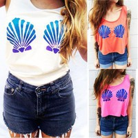 Mermaid Bra Crop Top