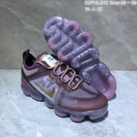 KUYOU N1028 Nike Vapormax VM3 2019 Transparent Upper Atmospheric Cushion Jogging Shoes Purple