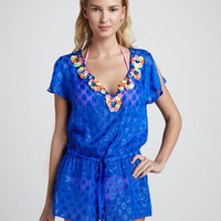 Kehala Dotted Paillette Coverup