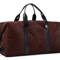 BURGUNDY ITALIAN OIL SUEDE : WEEKENDER 3.0 - BURGUNDY ITALIAN OIL SUEDE - COLOR / MATERIAL