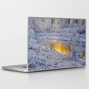It's Gold Outside Laptop & iPad Skin by Mixed Imagery