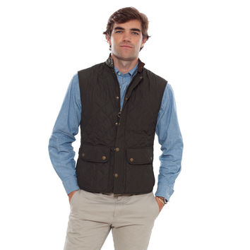Barbour® Dark Green Lowerdale Quilted Gilet