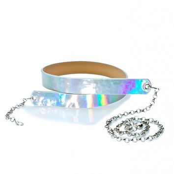 Caelum Holographic Belt