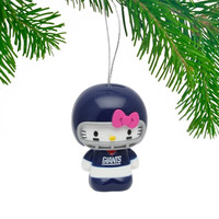 New York Giants Hello Kitty Ornament - http://www.shareasale.com/m-pr.cfm?merchantID=7124&userID=1042934&productID=555875428 / New York Giants