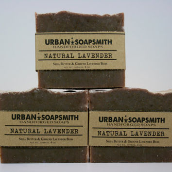 Natural Lavender Soap- Cold Process Soap, Bar Soap,  All Natural Soap, Handmade Soap, Unisex Soap