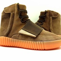 Yeezy Boost 750 Luminous Brown Sneaker Shoes