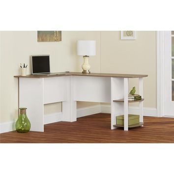 Altra Dakota L-Shaped Desk with Bookshelves | Overstock.com Shopping - The Best Deals on Desks