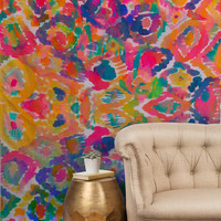 Amy Sia Watercolour Ikat 3 Tapestry
