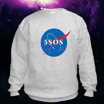 5SOS Nasa sweater Sweatshirt Crewneck