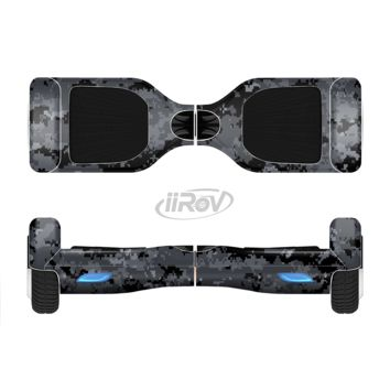 The Black Digital Camouflage Full Body Skin Set for the Smart Drifting SuperCharged Transportation iiRov