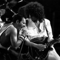 SJ0390 Queen Freddie Mercury Brian May Music 24x18 Print POSTER