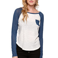Nollie Twist Colorblock Long Sleeve Tee at PacSun.com
