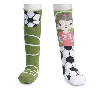 Novelty Socks SOCCER STORY TIME KNEE SOCKS Fabric Toddler No Skid 5004700490