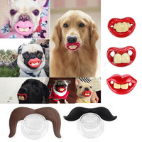 Funny Teeth Dog Pacifier - Chew Toy