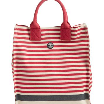 Barbour Coast Striped Canvas Tote | Nordstrom