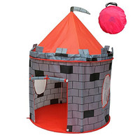 Castle Kids Play Tent -Indoor & Outdoor Children's Playhouse -- Durable & Portable with Free Carrying Bag - -- Makes Perfect Gift for Boys & Girls