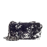 Chanel Flap Bag Sequin Mini