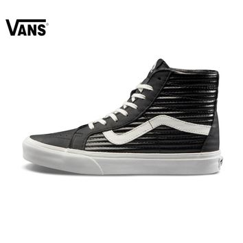 qiyif Original Vans Autumn Black Men's and Women's Unisex Skateboarding Shoes Sports Shoes Sneakers free shipping