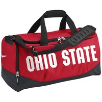 Nike Ohio State Buckeyes Training Duffel Bag (Red)