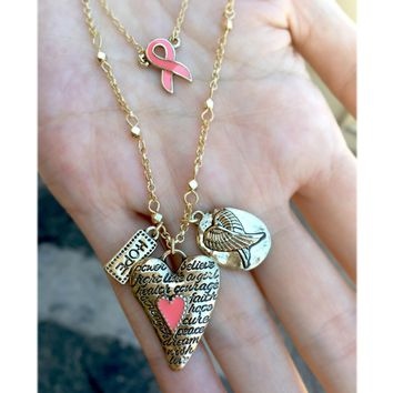 Breast Cancer Awareness *POWER* Necklace