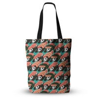 "Tobe Fonseca ""Sushi Panda"" Orange Blue Everything Tote Bag"