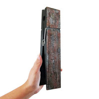Large Decorative Clothespin in grunge copper faux finish industrial office decor note holder or photo holder