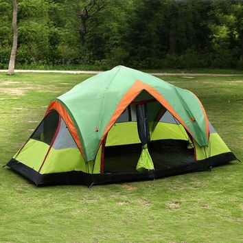 8 Person 2-Rooms Cabin Tent