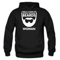 people without beards hoodie