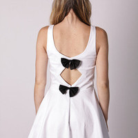 Esther Boutique - bow cocktail- white