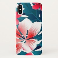 Exotic Hibiscus iPhone X Case