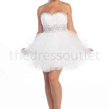 Short Prom Dress Plus Size Homecoming 2018