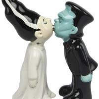 frankie and his bride salt and pepper shakers