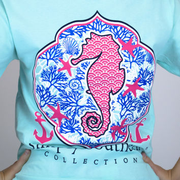 Seahorse Simply Southern Tee Shirt