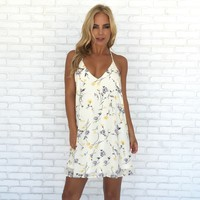 Summer Breeze Floral Dress
