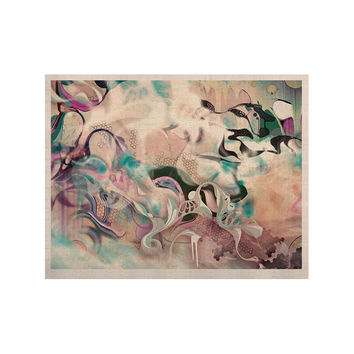 "Mat Miller ""Fluidity"" KESS Naturals Canvas (Frame not Included)"