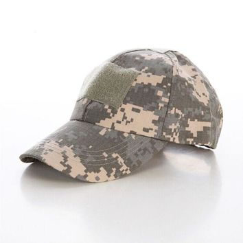 2017 Top Quality Men Army Camo Cap Baseball Camouflage Hats Desert Hat Casual  Bone Caps Style Tactical Caps Casual Sports Hat
