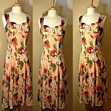 Women's Dress, Hawaiian dress, floral dress, maxi dress, beach dress, long dress, Island, Aloha