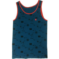 Davey Jones Tank Smoke Blue