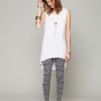 Free People Printed Intarsia Legging