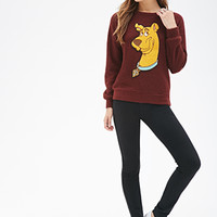 Textured Scooby-Doo Pullover