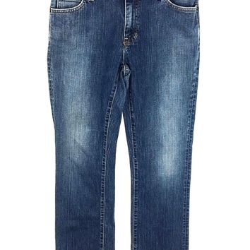 Gap Boot Cut Stretch Jeans Made USA Medium Wash Womens 4 Long Actual 29 x 30 - Preowned