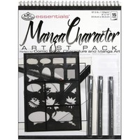 Royal & Langnickel Manga Artist Pack, 9-Inch by 12-Inch