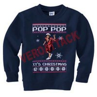pop pop bruno mars christmas Unisex Sweatshirts