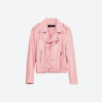 FAUX LEATHER JACKET - OUTERWEAR-WOMAN-COLLECTION AW16 | ZARA United States