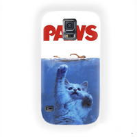 Paws Movie Parody Funny Hilarious Kitten Felines Cat Attack For Samsung Galaxy S5 Case