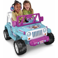 Disney Frozen Jeep Wrangler 12-Volt ATV Battery-Powered Operated Ride-On Car