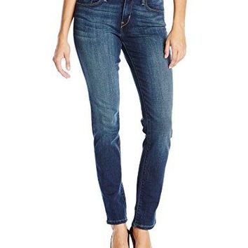 Levi's Women's Mid Rise Skinny Jean, Luck Out West, 29 (US 8) R